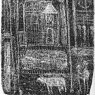 Litografía Dubuffet - Paysage