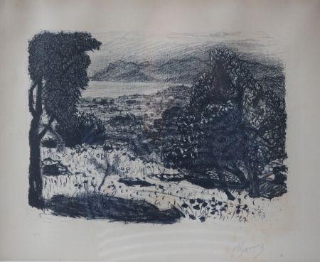 Litografía Bonnard - Paysage du Midi