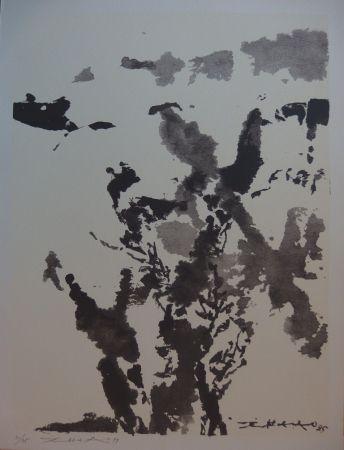 Serigrafía Zao - Paysage marin