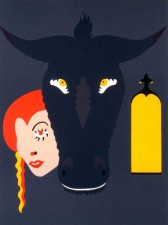 Litografía Arroyo - Peau d'âne