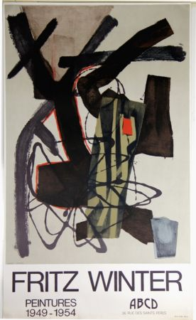 Litografía Winter - Peintures 1949 1954