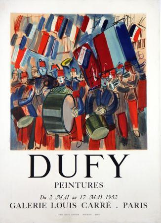 Litografía Dufy - Peintures Galerie Louis Carré  Mai 1952