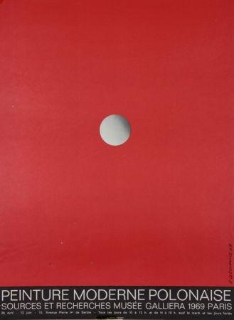 Litografía Cieslewicz  - Peintures Modernes Polonaises