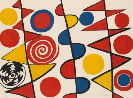 Litografía Calder - Pennants