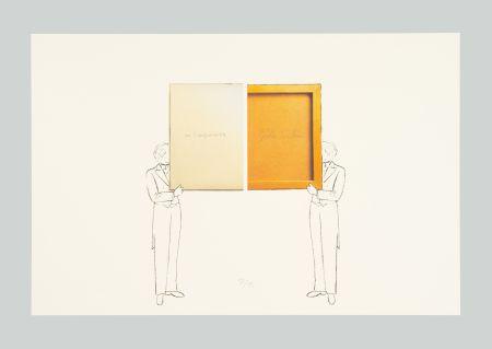 Litografía Paolini - Per un verso o per l'altro e altro ancora
