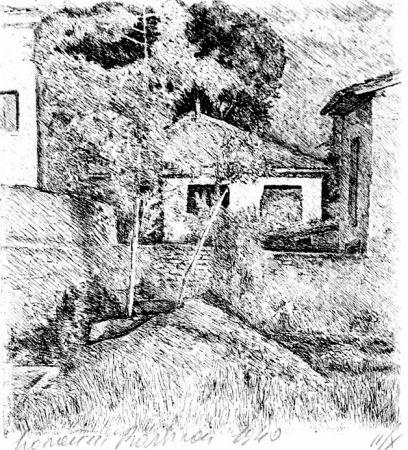 Aguafuerte Barbisan - Periferia