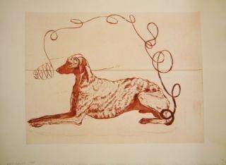 Aguafuerte Y Aguatinta Smith -  Perros de piedra I A