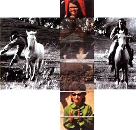 Sin Técnico Baldessari - Person On Horse And Person Falling From Horse