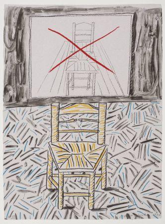 Litografía Hockney - Perspective Lesson