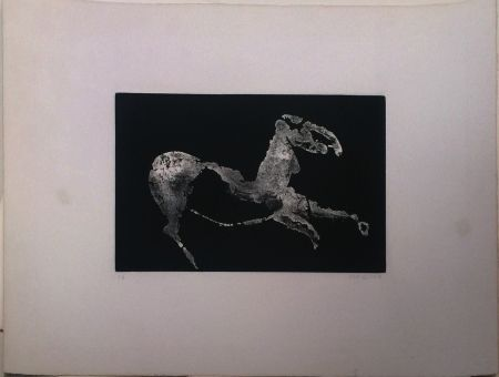 Aguatinta Marini - Petit Cheval