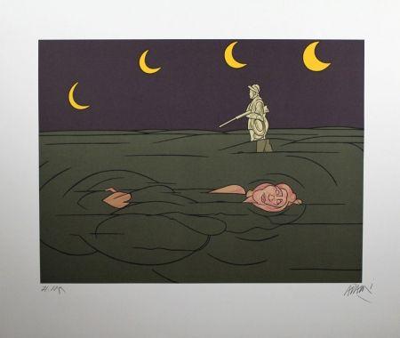 Litografía Adami - Petit Clair De Lune