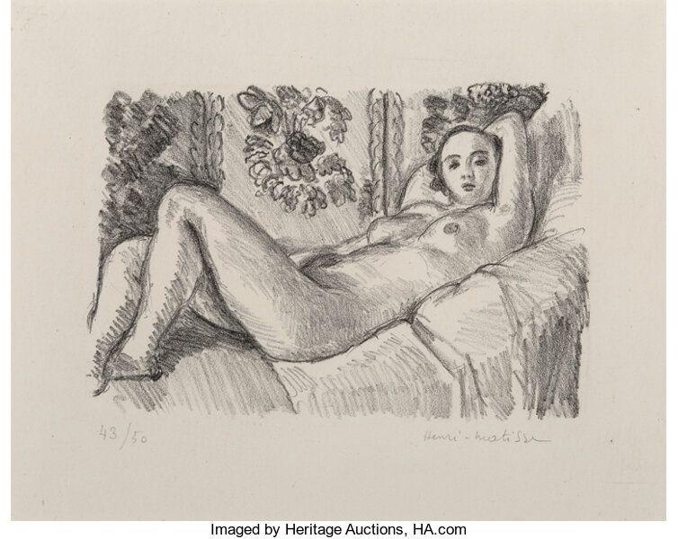 Litografía Matisse - Petite Aurore