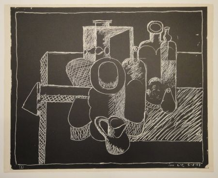 Litografía Le Corbusier - Petite
