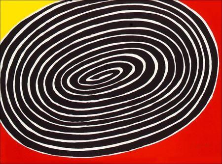 Litografía Calder - Petite Spirale