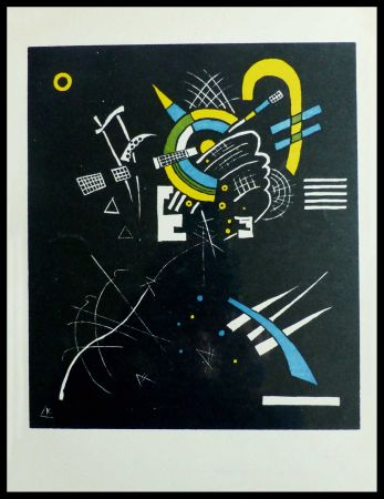 Litografía Kandinsky - PETITS MONDES