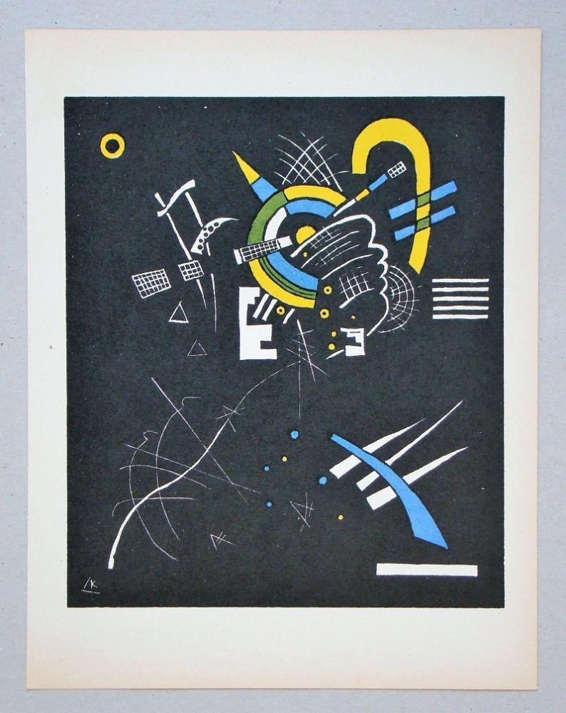 Litografía Kandinsky - Petits Mondes - 1923