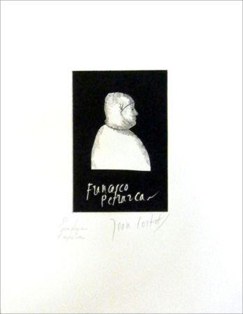 Aguafuerte Cortot - Petrarque