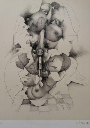 Litografía Daboval - Phantasmes de Berthe 3