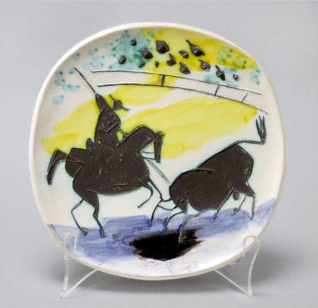 Cerámica Picasso - Picador and Bull, 1953