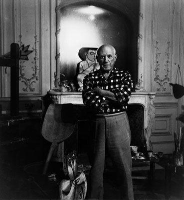 Fotografía Clergue - Picasso Au Miroir