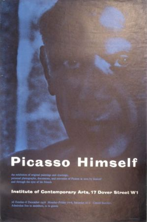 Cartel Picasso - Picasso Himself