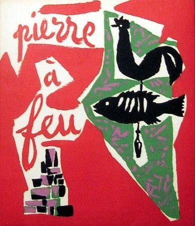 Libro Ilustrado Marchand - Pierre à feu. Provence noire