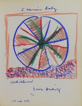Sin Técnico Alechinsky - Pierre Alechinsky (né en 1927). Dessin original signé et daté.