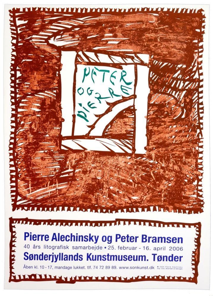 Cartel Alechinsky - Pierre Alechinsky og Peter Bramsen, Sønderjylland Kunstmuseum. Tønder
