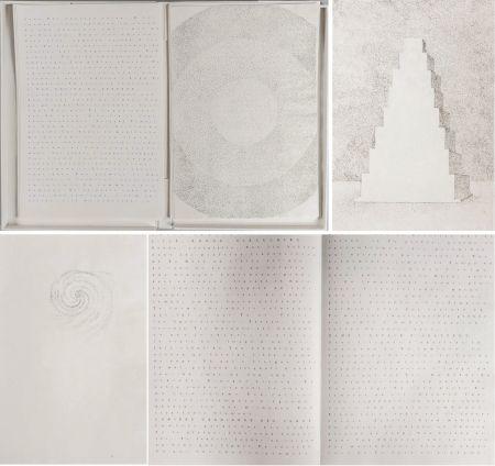 Libro Ilustrado Pagava - Pierre Lecuire : POÈMES MÉTAPHYSIQUES. 7 pointes sèches de Véra Pagava (1979) (1975)