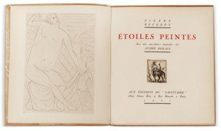 Libro Ilustrado Derain - Pierre Reverdy :  ÉTOILES PEINTES. Avec une eau-forte originale de André Derain (1921)