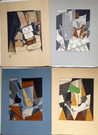 Libro Ilustrado Gris  - Pierre Reverdy:  AU SOLEIL DU PLAFOND. Tériade 1955