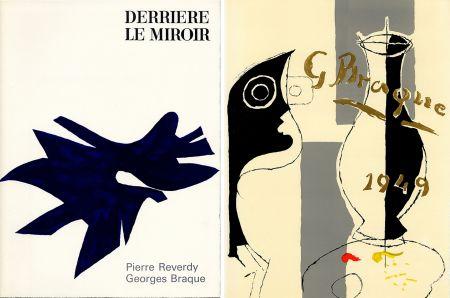 Libro Ilustrado Braque - PIERRE REVERDY, GEORGES BRAQUE. DERRIÈRE LE MIROIR n° 135-136. Déc.1962-Janv.1963.