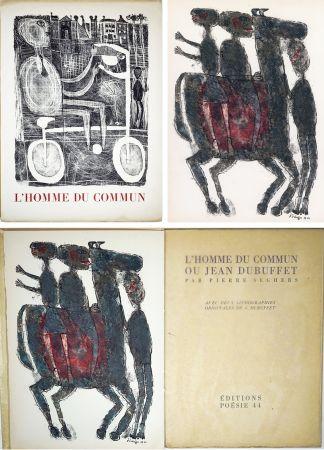 Libro Ilustrado Dubuffet - Pierre Seghers : L'HOMME DU COMMUN ou Jean Dubuffet (1944).