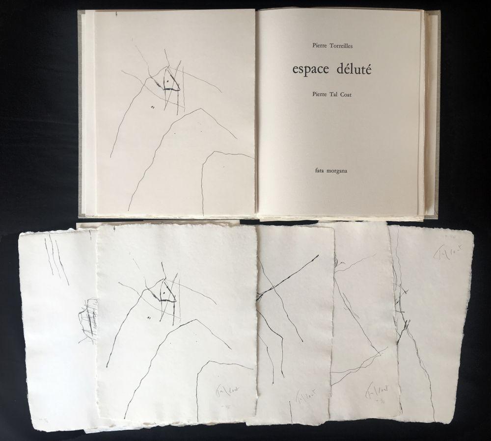 Libro Ilustrado Tal Coat - Pierre Torreilles : ESPACE DÉLUTÉ