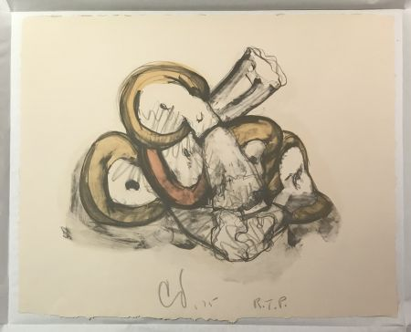 Litografía Oldenburg - Pile of Erasers