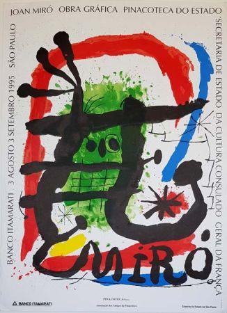 Litografía Miró - Pinacoteca De Estado  Sao Paulo