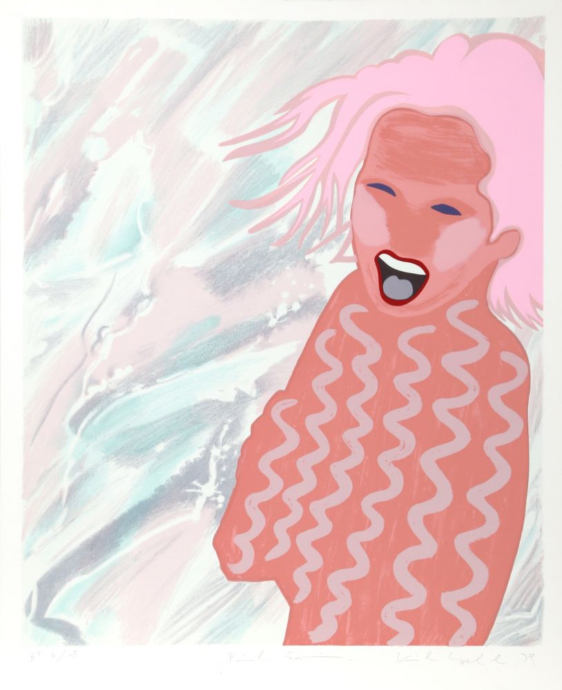 Serigrafía Kogelnik - Pink Swim