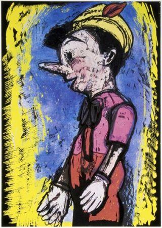 Serigrafía Dine - Pinocchio