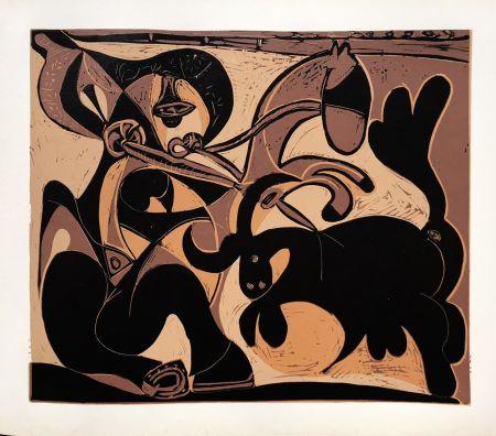Linograbado Picasso (After) - Pique