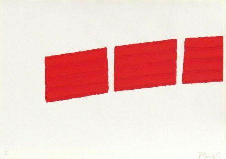 Serigrafía Pinelli - Pittura R (b)