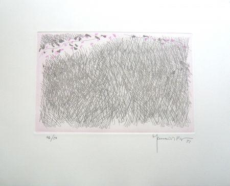 Grabado Hernandez Pijuan - PJ9