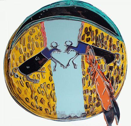 Serigrafía Warhol - Plains Indian Shield (FS II.383)