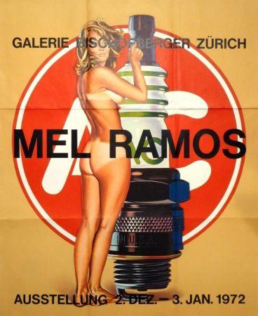 Offset Ramos - Plakat Galerie Bischofberger