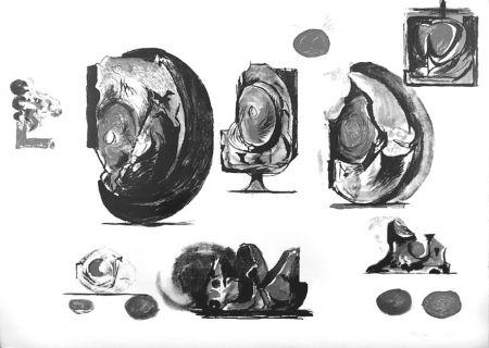 Litografía Sutherland - Planches d'études