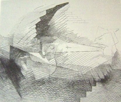 Grabado Marcoussis - Planches de salut, N. 8