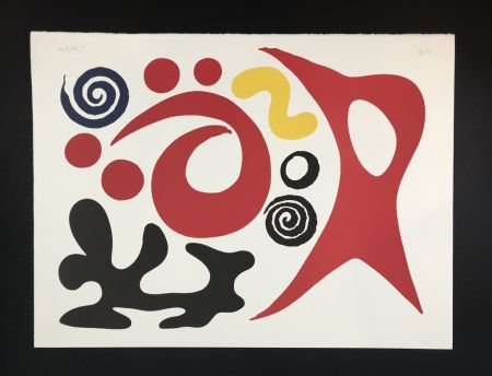 Litografía Calder - Plancton ( plankton )
