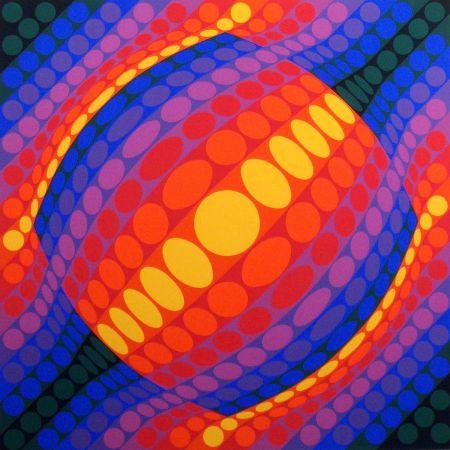 Múltiple Vasarely - Planeta