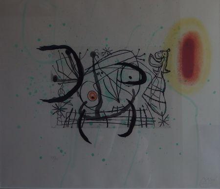 Grabado Miró - Plate 11