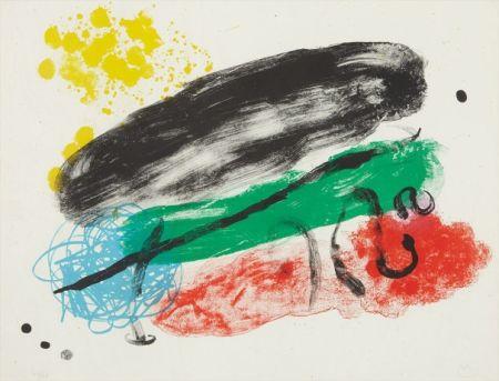 Litografía Miró - Plate 16, from Album 19