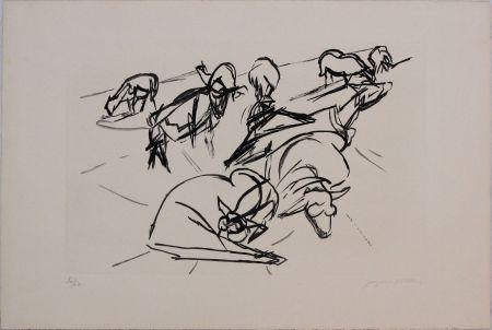 Aguatinta Villon - Plate X from 'Hesiode, Les Travaux et les Jours' portfolio